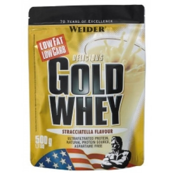 Gold Whey protein пакет 500гр.  Weider