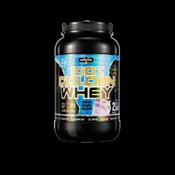 Протеин Golden Whey 2 lb Maxler