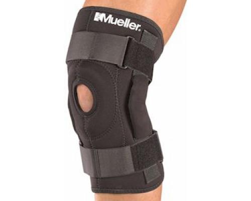 2333 Шарнирный бандаж на колено, черный, (Hinged Knee Brace - with Universal Buttress)