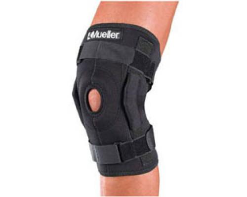 3333 Шарнирный бандаж на колено, черный, (Hinged Wraparound Knee Brace)
