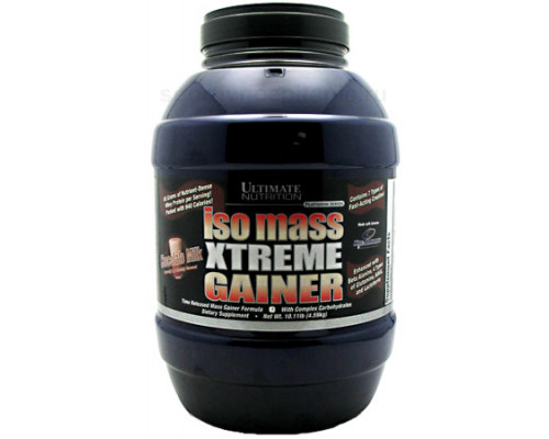 ISO Mass Xtreme Gainer 10,11 lb Ultimate