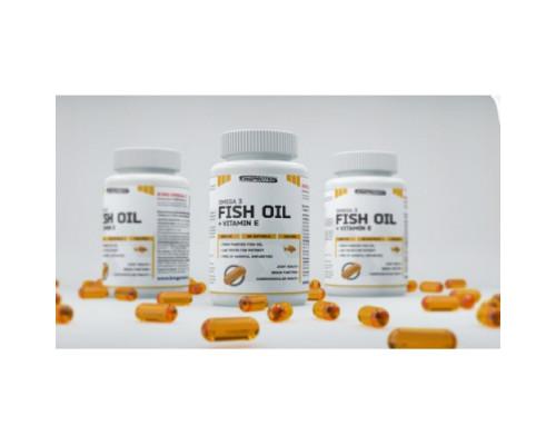 Fish Oil + Vit E 90softgels King protein