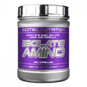 Isolate Amino 250caps Scitec