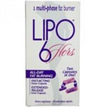 LIPO-6 HERS 120 CAPS Nutrex