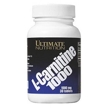 L-carnitine 1000мг 30таб Ultimate