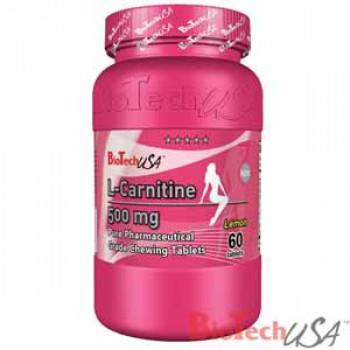 L-carnitine 500mg 60таб Biotech