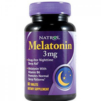 Melatonin 3mg 60tabs Natrol