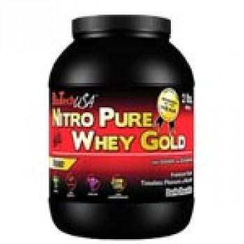 Nitro Pure Whey Gold 908г банка BioTech