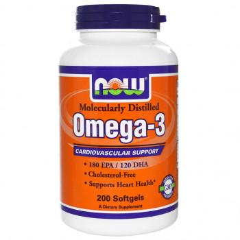 Omega-3 1000 mg 200 softgels NOW