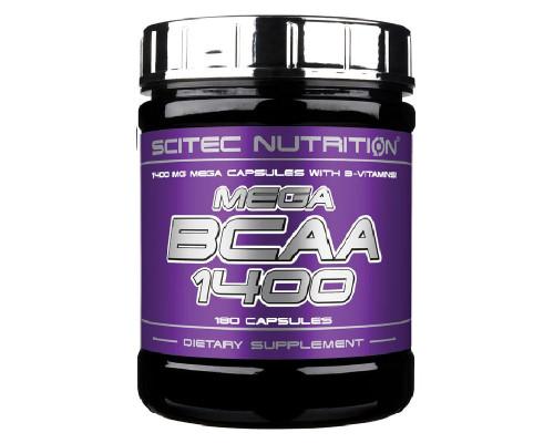 Mega BCAA 1400 180caps Scitec