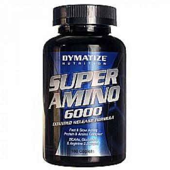 SUPER AMINO 6000 500таб Dymatize