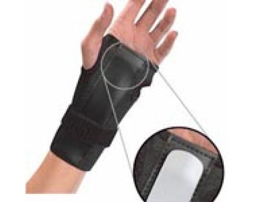 300 Бандаж на запястье с шиной Wrist Brace w/Splint, Black, One size