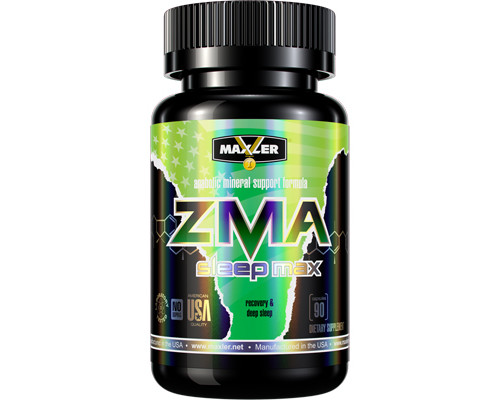 ZMA Sleep Max 90caps Maxler