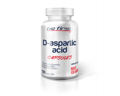 D-aspartic acid 120caps Be First