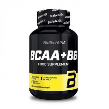 BCAA + B6 100 таб Biotech