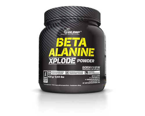 Beta-Alanine Xplode 420g Olimp