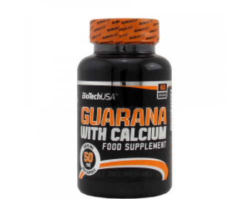 Guarana with calcium 60caps Biotech