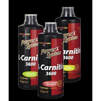 L-carnitine liquid 3600 1000мл Power System