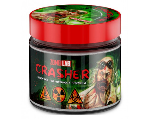 CRASHER - HARDCORE PRE-WORCOUT, 100гр, ZOMBI LAB