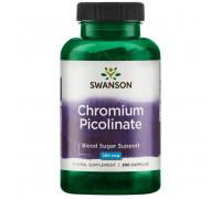 Chromium Picolinate 200 mcg 200 caps Swanson
