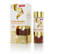 Curcumin + Bioperine + Vitamin D 60caps Nutrend