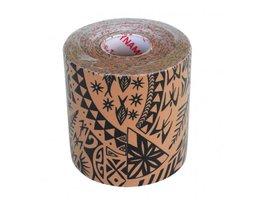 Dynamic Tape 7,5cm x 5m Beige/Black Tattoo