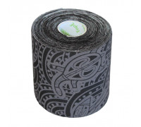 Dynamic Tape ECO 5,0cm x 5m Black/Grey Tattoo