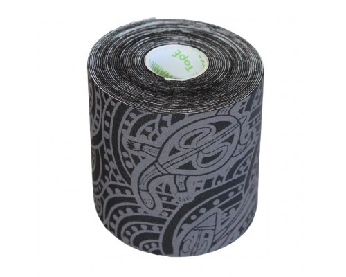 Dynamic Tape ECO 7.5cm x 5m Black/Grey Tattoo