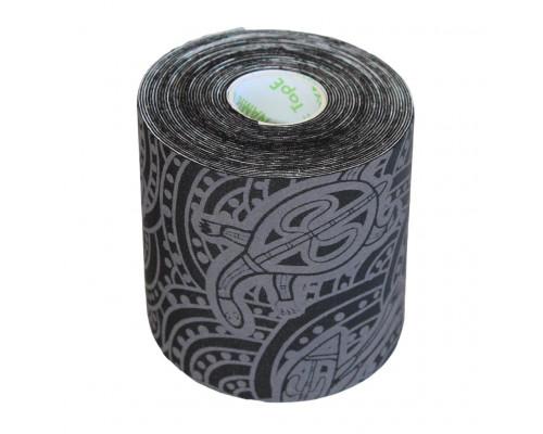 Dynamic Tape ECO 5,0cm x 5m Black/Grey Tattoo