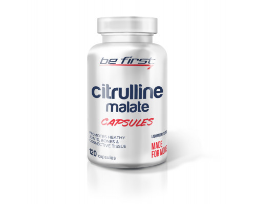 Citrulline malate 120caps Be First
