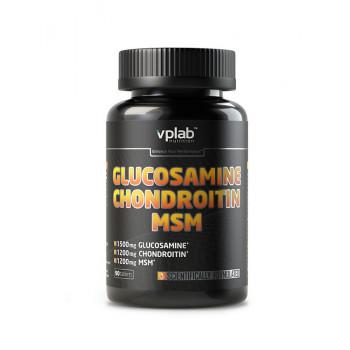 Glucosamine Chondroitine MSM 90tab VPlab