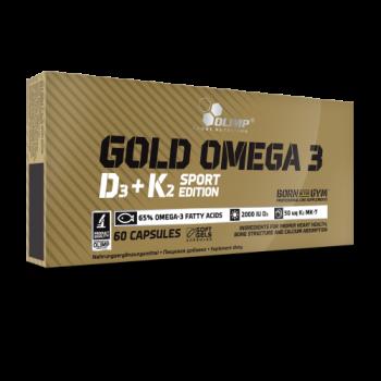 Gold Omega 3 D3 + K2 Sport Edition 60caps Olimp
