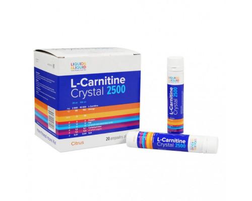 L-Carnitine Crystal 2500  25 ml Liqud & Liquid