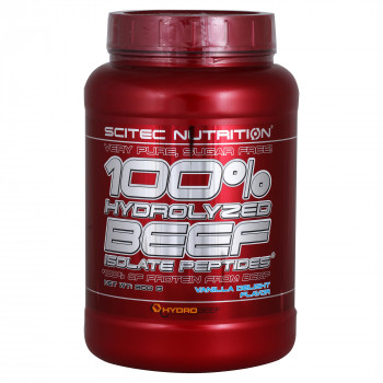 Hydro Beef Peptid Isolate 900g Scitec