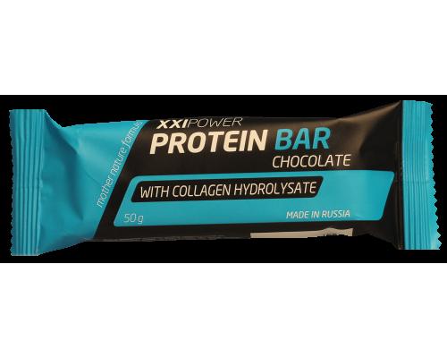 Протеин бар с колагеном 50г XXI Power