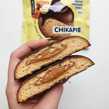 Chikalab Печенье глазированное с начинкой 60 г BombBar