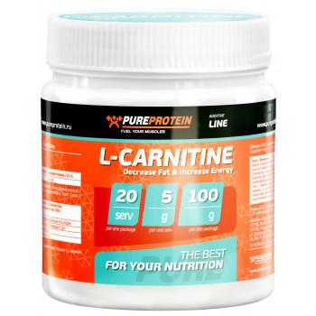 L-carnitine 100g PureProtein