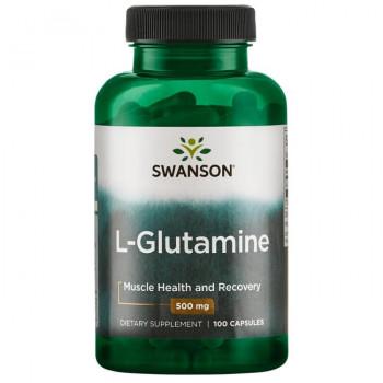 L-Glutamine 500 mg 100 caps Swanson