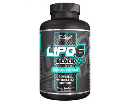 LIPO-6 BLACK HERS 120caps Nutrex