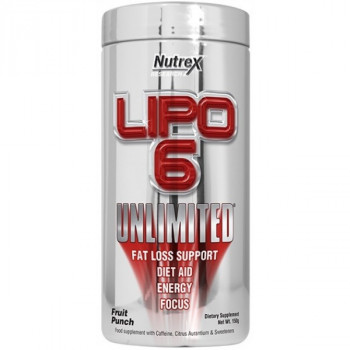 LIPO-6 Unlimited Powder 150g Nutrex