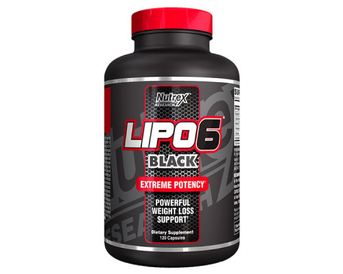 LIPO-6 BLACK 120caps Nutrex