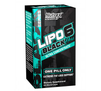 LIPO-6 BLACK HERS Ultra Concentrate 60 caps Nutrex
