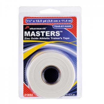 21850 MASTERS Tape pharmacels, 100% хлопок, ZnO, (3,8cm*11,4m), в розничной упаковке (clamshell)