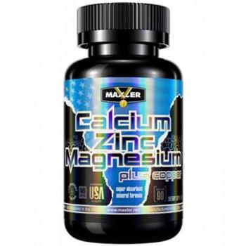 Calcium Zinc Magnesium 90 tabs Maxler USA