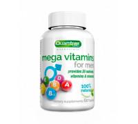 Mega Vitamins for Men 60 таб Quamtrax