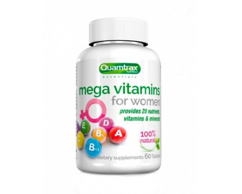 Mega Vitamins for Women 60 таб Quamtrax