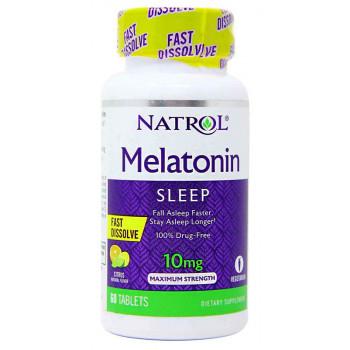 Melatonin 10 мг 60 таб Natrol