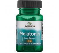 Melatonin 3 mg 120 caps Swanson