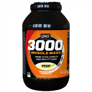 3000 Muscle Mass 4,5 кг QNT