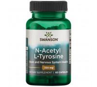 N-Acetyl L-Tyrosine 350 mg 60 caps Swanson